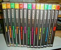 HITCHCOCK COLLECTION PANORAMA serie completa 14 DVD come nuovi - RARO INSIEME
