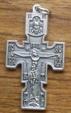 """Unique Crucifix Pendant + 2"""" Tall + St. Michael the Archangel & symbolism"""