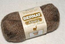 New Skein Bernat Alpaca Natural Blends Yarn - Tundra - #5 Wgt