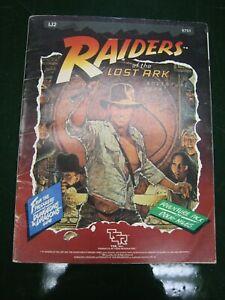 Raiders of the Lost Ark Adventure Pack TSR 6751 1984 Indiana Jones RPG Uncut
