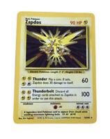 1999 Pokemon Base Set 16/102 Zapados Holofoil