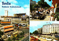 Berlin , Boulevard Kurfürstendamm ; Ansichtskarte 1985 gel.