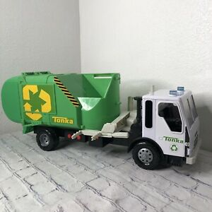 Large Tonka Garbage / Recycling Truck - Go Green Lights and Sounds Work