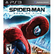 BRAND NEW SEALED PS3 Marvel Spider-Man: Edge of Time (Sony PlayStation 3, 2011)