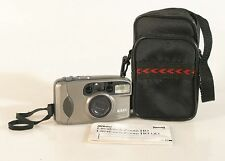 NIKON ONE TOUCH ZOOM 70 AUTO FOCUS FILM CAMERA WITH MANUAL AND BATTERY