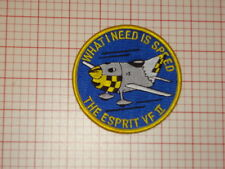 "Espirit VF II ""What I need is speed"" Patch"