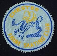 Vintage Patch CHESTER FIGURE SKATING CLUB Nova Scotia Sports