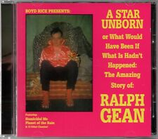 BOYD RICE Presents: Ralph Gean A Star Unborn - NEW CD - Mint