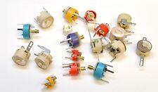 ELECTRONIC COMPONENTS ASSORTMENT -  TRIM CAPACITORS, VARIABLE CAPACITORS -20pk