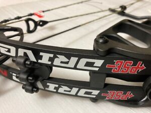 """PSE Drive NXT 45 to 70lb Compound Bow, RH, DL 24"""" to 31""""-Color Black 2021"""