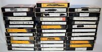 Lot of 34 Various Brands Recorded VHS Tapes - Sold As Blank Media - Lot # 42