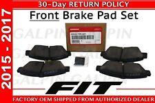 Honda OEM Genuine 2015-2017 Honda FIT Front Brake Pad Set   (45022-T5R-A01)