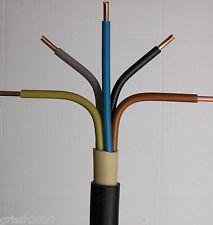 NYY-J 5x2,5 mm² 50m Meter Erdkabel Starkstromkabel InstallationskabelKupferkabel