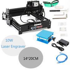 10w Desktop Cnc Engraver Metal Cutter Engraving Machine Usb Engraver 14x20cm Diy