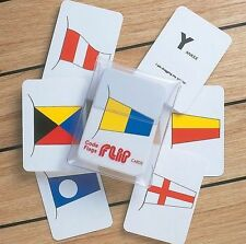 Flip Cards - International Code Flags for Mariners - 41 Cards