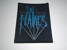 IN FLAMES WOVEN PATCH