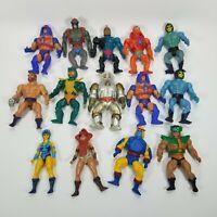 1980s He Man Masters of the Universe MOTU Lot of 14 Skeletor Merman Teela Beast