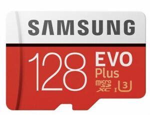 Samsung 128gb Micro SD Karte SDHC EVO UHS-I Class 10 u3 Speicherkarte 100% Original