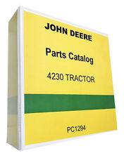 John Deere 4230 Tractor Parts Manual Catalog 613 pages