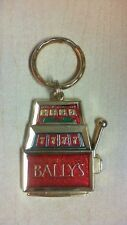 BALLY'S PARK PLACE GOLD TONE KEY KEYCHAIN CHARM FREE SHIPPING   R21T1