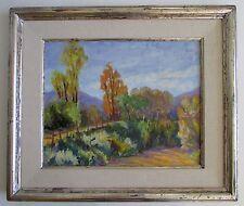 Geri Van Culin Taos New Mexico Plein Air Oil Landscape Painting