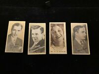 Four 1930's Peerless Movie Star Cards-Liggett's Drug Store-Charlie Chaplin