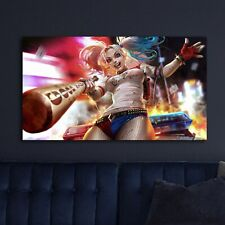 Harley Quinn Amazing HD Canvas prints Painting Home decor Picture Room Wall art