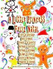 A Little Princess Feliz Natal Livro de Atividade para Crianças Brincar e Se...