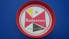 VINTAGE 1960'S BUDWEISER KING OF BEERS BEER TRAY 13 1/2""