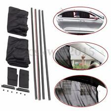 2PCS 51cm Lagre Side Car Curtain Sun Shade w/6 Slotting Rail + 4 Plastic Guide