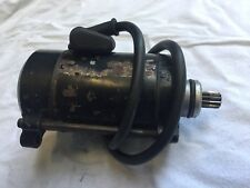 Kawasaki Zzr1100 Starter Motor From A 1991 Model