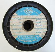 Kanthal DSD 0,9x0,1mm 17Ω/m, Flach Flachdraht Widerstandsdraht Heizdraht 7 Meter