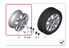 Genuine Mini Alloy Wheel Flame Spoke Silver PN: 36116775685 ns UK