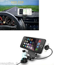 Charging Cable Magnetic Support Car Dash Holder Stand Mount For Smart Phone GPS