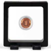 New Magic Floating Frame 3D Capsule Holder Rocks Mineral Gemstone Coin Display