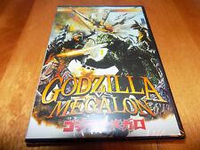 GODZILLA VS MEGALON Seatopia Gigan Jet Jaguar Monster Monsters DVD SEALED NEW