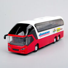 New York Double Decker Sightseeing Tour Bus Alloy Car Model w/light&sound