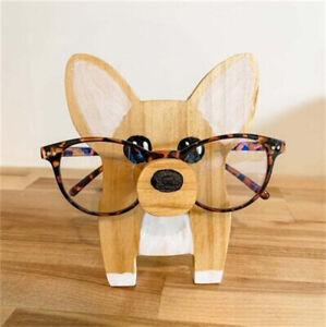 Animals Wooden Sunglasses Eyeglass Holder Decorative Creative Stand Organiser AU