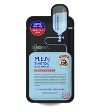 Mediheal Men Timetox Black Mask EX (25ml X 10 Sheets)