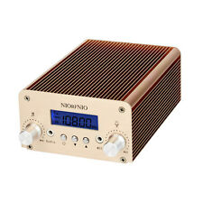 1W/6W PLL FM Transmitter Radio Stereo Station Wireless Broadcast TNC Interface