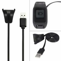 Golfer 2 SE TUSITA Charger for TomTom Runner 2 3 Spark 1 3 USB Charging Cable Clip Cradle 100cm Adventurer Fitness Tracker Accessories