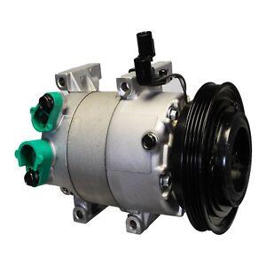 For Hyundai Accent 1.69 L4 10-11 A/C Compressor and Clutch Denso 471-6033