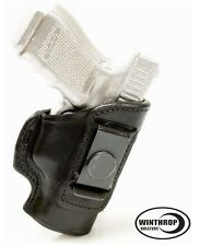 Walther PPK 3.3 inch IWB No Shield Single Spring Clip Holster R/H Black