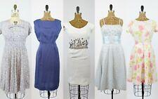 VINTAGE 1940s 1950s RESELLER LOT  | vintage lot of five dresses |  LOT #11