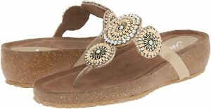 Spring Step Azura Women's Lori Thong Sandals, Beige ( EU 39 / US 8.5 )