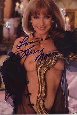 Autogramm Terry Moore 09/1984 Playboy sexy Model nackt oben ohne origínal actor