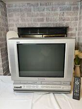 "Panasonic Pv-Df2002 20"" Crt Tv/Dvd/Vcr/ Retro Gaming Combo Television W/ Remote"