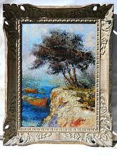 Noel CANEPA (1935) PROVENCE Tableau Peinture Huile IMPRESSIONNISTE MARSEILLE