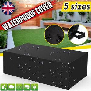 Waterproof Garden Rattan Outdoor Furniture Cover Patio Table Sofa Protection UK