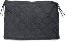 Poncho Liner Black US Military Woobie Mil Spec GI Style with Bag Army USMC